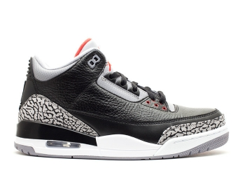 Traphouse Sneakers | Air jordan 3 retro 2011 release black varsity red cement grey