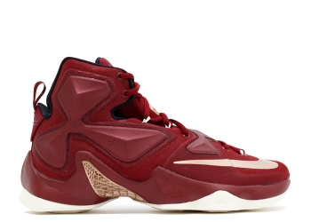 Traphouse Sneakers | Nike lebron xiii cavaliers team red mtlc bronze blk sl