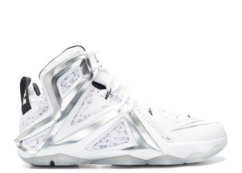 Traphouse Sneakers | Nike lebron xii elite sp pigalle pigalle white pure platinum