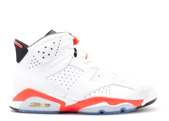 Traphouse Sneakers | Air jordan 6 retro infrared 2014 white infrared black