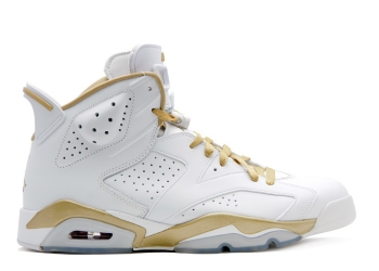 Traphouse Sneakers | Air jordan 6 retro golden moments package white metallic gold