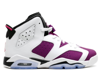 Traphouse Sneakers | Air jordan 6 retro gg gs white vivid pink brght grp blk