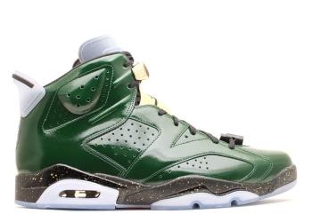 Traphouse Sneakers | Air jordan 6 retro champagne green glow