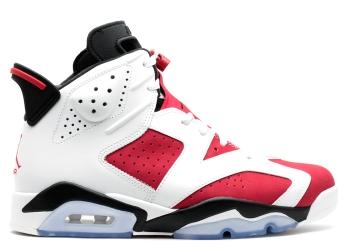 Traphouse Sneakers | Air jordan 6 retro carmine white carmine black
