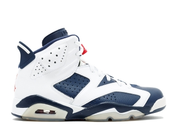 Traphouse Sneakers | Air jordan 6 retro olympic 2012 release white midnight navy vrsty red