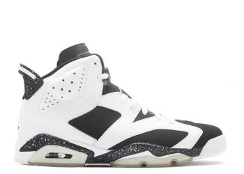 Traphouse Sneakers | Air jordan 6 Retro oreo white black