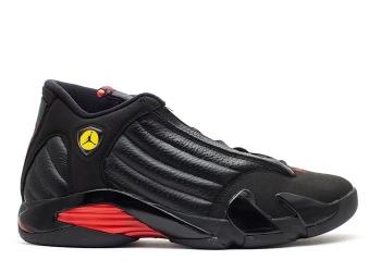Traphouse Sneakers | Air jordan 14 retro last shot 2011 release black varsity red black
