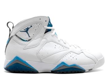 Traphouse Sneakers | Air jordan 7 retro french blue wht frnch bl unvrsty bl blnt g