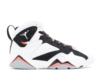Traphouse Sneakers | Air jordan 7 retro gg white white black hot lava