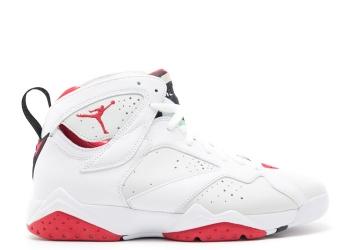 Traphouse Sneakers | Air jordan 7 retro hare white true red light slvr trmln