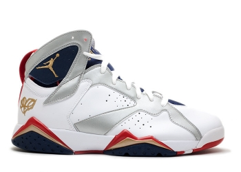 Traphouse Sneakers | Air jordan 7 retro for the love of the game white mtllc gold tr rd mid nvy