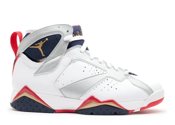 Traphouse Sneakers | Air jordan 7 retro olympic 2012 release white mtllc gold obsdn tr rd