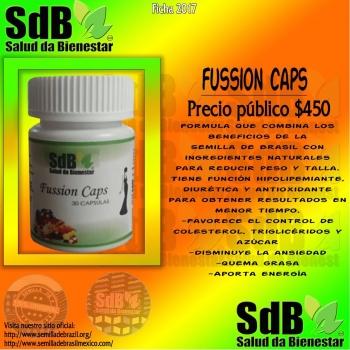 Semilla de brasil | Fussion Caps