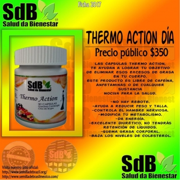 Semilla de brasil | Thermoaction Día