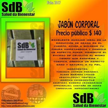 Semilla de brasil | JABON CORPORAL