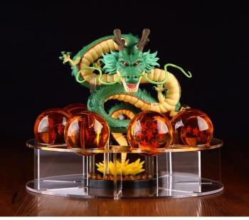 Esferas Del Dragón De 4.4 cm Ø + Shen Long + Base