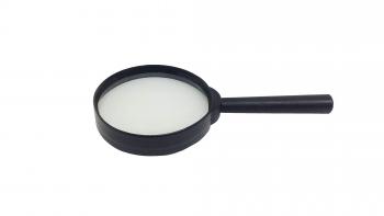 Lupa Lente De Mano Contorno Y Mango De Plástico Ø 60mm