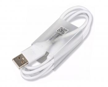 Cable De Carga Y Transferencia De Datos Tipo C Color Blanco