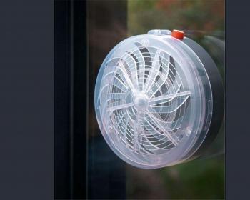 Eliminador De Insectos Voladores Para Ventana Tipo Solar Buzz Kill