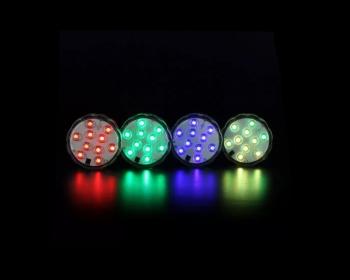 Luz Led RGB Contra Agua 10 Leds