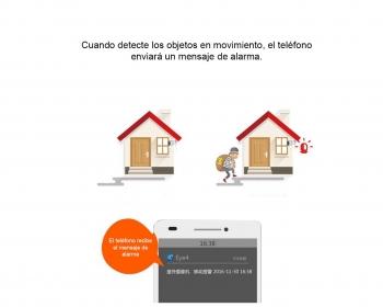 Cámara IP WiFi C17S IP66 Para Exteriores Contra Agua Visión Nocturna