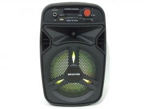 Bocina Bluetooth Inalámbrica Recargable USB TF Radio FM Micro Aux