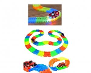 Pista De Carreras Infantil Magic Tracks Luminous 368 Piezas