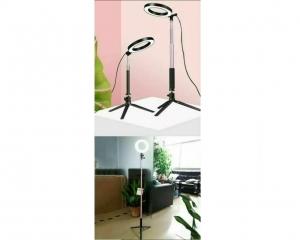 Mini Lámpara Aro Luz Led Maquillaje Fotografía Tocador