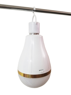 Foco Led De Emergencia Recargable 30w E27 Luz Blanca