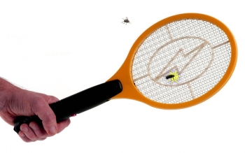 Raqueta Eléctrica Recargable Mata Mosquitos