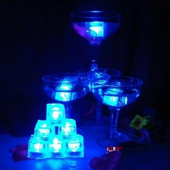 Cubo Led Luminoso RGB Sumergible Desechable