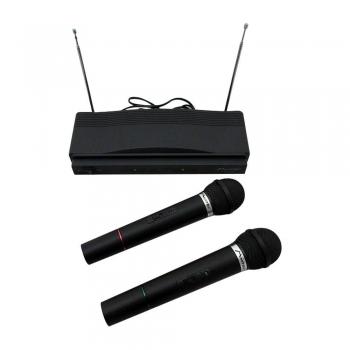 Set De Micrófonos Inalámbricos Dinámicos