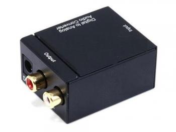Convertidor De Audio Digital Toslink a RCA