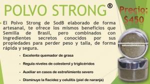 Semilla de brasil | POLVO STRONG