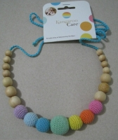 Aqua Simple Rainbow Necklace