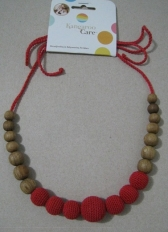 Solid Color Necklace in Red