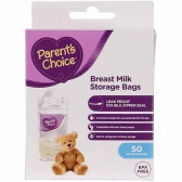 Bolsas para almacenar leche materna Parents Choice