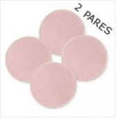 Almohadillas Reusables Pink 2 pares
