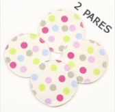 Almohadillas Reusables  Dots 2 pares