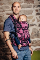 Mochila LennyUp de Lenny Lamb Time Black and Pink