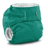 Rumparooz one size pocket diaper Peacock