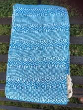 Rebozo Mexicano Azul