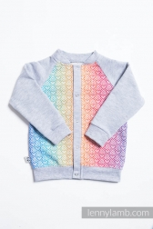 Sweatshirt LennyBomber Big Love Rainbow Talla 68