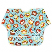 Sleeved Bib Bumkins Owls