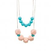 Collar Bumkins de Silicón Paloma Turquoise