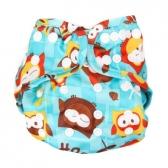 Cubierta Diaper Cover Owls