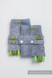 Carrier Pads Lenny Lamb Denim Blue