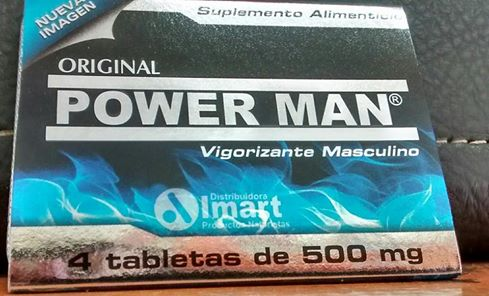 POWER MAN, MAS POTENCIA, MAS DUREZA