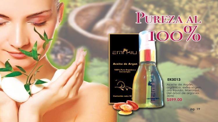 Aceite de argan Emi Kiu  100% puro y ogànico