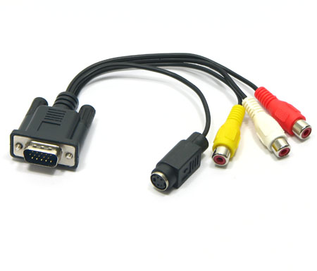 Cable vga a rca